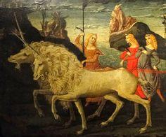 Giovanni di Paolo (c1399-1482) , Triumph of Chastity,  1470
