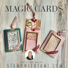 Flip Cards, Fancy Fold Cards, Pop Up Cards, Folded Cards, Card Making Tutorials, Card Making Techniques, Card Making Templates, Tarjetas Stampin Up, How To Make Magic