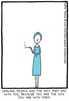 Wise Woman Cartoon