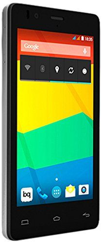 BQ Aquaris E4.5 – Smartphone libre Android (pantalla 4.5″, cámara 8 Mp, 8 GB, Quad-Core 1.3 GHz, 1 GB RAM, Android 4.4 KitKat), blanco y negro   Your #1 Source for Mobile Phones, MP3 Players & Accessories