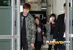 140308 Lee Min Ho @ Gimpo Airport