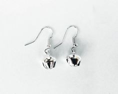 Windmill and small bell earrings