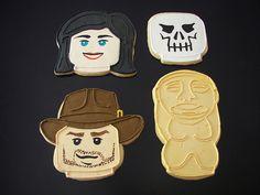 Indiana Jones LEGO Cookies