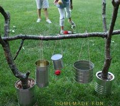Rolig lek som barnen kan bygga själva.