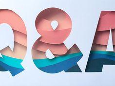Q&A by Joseph Alessio #Design Popular #Dribbble #shots
