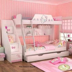 20 Hello Kitty Bedroom Decor Ideas To Make Your Bedroom More Cute Fair Hello Kitty Bedroom Designs Inspiration Design