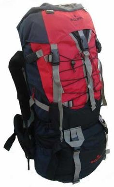 7000 Cubic inch Red Alpine Trekking Hiking Climbing Camping Backpack Gear  New 6e7dd626967ed