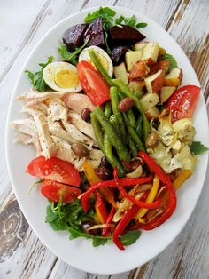 Chicken Nicoise Salad | Proud Italian Cook