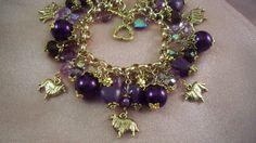 SHELTIE - COLLIE- my7 - Charm Bracelet-  Free Shipping - Handmade by Artisan - Last One by HOBBYHORSELADY on Etsy