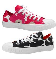 4216963118e My Marimekko converse sneakers. Bonnie Stevenson · Converse shoes