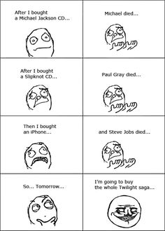 Death of the Twilight Saga.