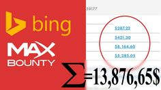 How To Make OVER 2,000$ Per Month with Bing Ads And Maxbounty
