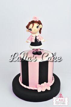 Shabby Chic Girl cake design / pasta di zucchero / sugar paste