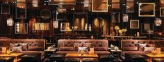 Bellagio Resort & Casino, Lily Bar & Lounge - Las Vegas, NV | .. lavish décor and panoramic views of the surrounding casino floor. Imported Spanish stone tabletops and plush community-style ottomans, along with the lounge's brilliant mahogany colors and golden tones, create a sleek aesthetic. This upscale environment is the perfect complement to the lounge's unique and unexpected seasonal cocktail offerings crafted by a true master mixologist, as well as inspired music mixed by top DJs.