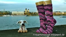 Augenblick mal ....: Rosenquarz Socken