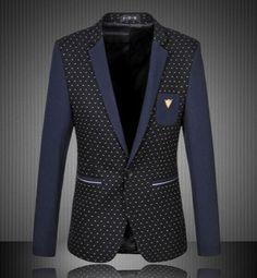 NEW! Men's Casual Suit Jacket Blazer
