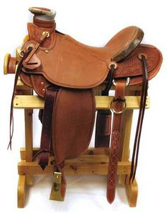 McCall Saddle 16 Inch Natural 98 Wade   AA Callisters