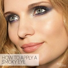 The smoky eye is less about color and more about application. Get our how-to here: http://www.bhg.com/beauty-fashion/makeup/dare-to-try-smoky-eye/?socsrc=bhgpin011815smokyeye