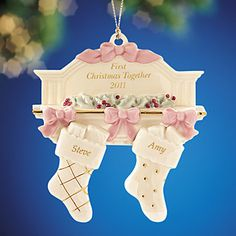 Lenox First Christmas Together Ornament