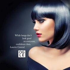 What do you think? Can you rock bangs, #OgleNation?