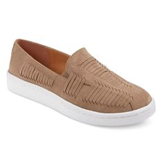 Women's Ramsi Slip On Sneakers - Taupe Brown 8.5
