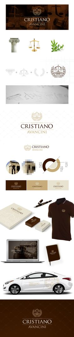 Advogado Cristiano Avancini by Rodrigo Silva, via Behance