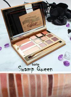 Tarte Grav3yardGirl Swamp Queen Palette Swatches