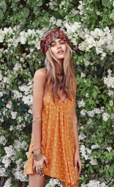 Stylish bohemian boho chic outfits style ideas 119
