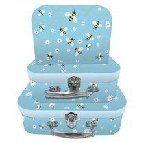 Bumble Bee Storage Cases Suitcase Storage, Little Cherubs, Small Case, Bee Design, Decorative Boxes, Cases, Happy, Ser Feliz, Decorative Storage Boxes