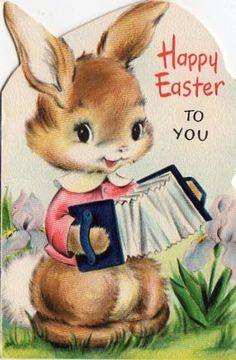 Cute Easter Card X26 | eBay