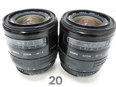 5L298GC SIGMA 28-70mm F3.5-4.5 レンズまとめて2本ジャンク_画像1