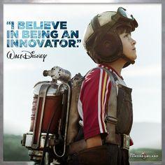 Believe! #DreamersWanted #Tomorrowland Disney Love, Disney Art, Disney Pixar, Sience Fiction, Live Action Movie, Action Movies, Walt Disney Animation Studios, Film Serie, Disney Quotes