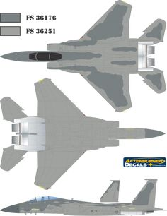 Here is the McDonnell Douglas F-15A/B/C/D Mod Eagle (Late) Color Profile and Paint Guide.