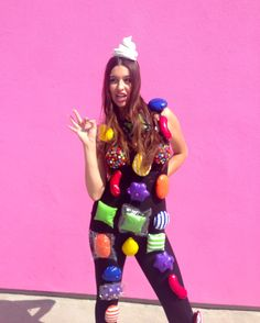 Candy Crush Costume #Halloween