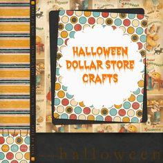 Halloween Dollar Store Crafts