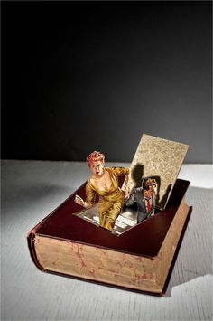 Book it, a Thomas Allen sculpture/illustration