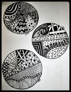Zentangle Patterns For Beginners | Topic: Some Zentangles from a Beginner (Read 4764 times)