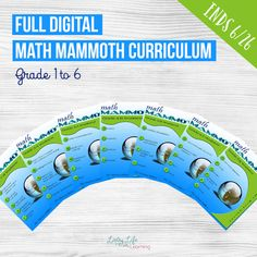 Win the FULL Math Mammoth Math Curriculum Giveaway