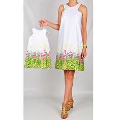 Hotice Anne Kız Çiçekli Çan Elbise, doğum günü elbiseleri, doğum günü kıyafetleri