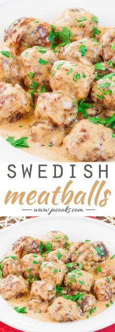 Swedish Meatballs...dinner or appetizer