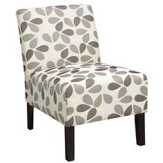Features:  -Material: Fabric.  -Transitional design.  -Oversized plush seating.  Frame Finish: -Coffee.  Upholstered: -Yes.  Frame Material: -Wood.  Upholstery Color: -Multi-colored.  Upholstery Mater