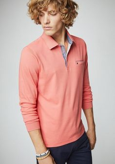 PIERRE CARDIN Longsleeve Interlock Poloshirt - Regular Fit ab 59,99€. Longsleeve Poloshirt mit aufwendigen Details bei OTTO