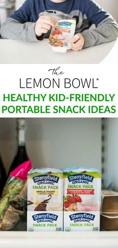 A list of my favorite kid-friendly, portable snack ideas that happen to be both healthy and delicious! #kidfriendly #snackideas #healthy