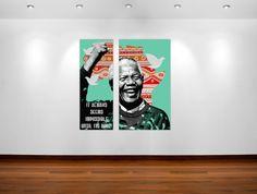 Nelson Mandela quote poster art #posterart