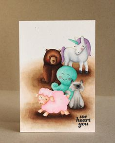 Wow! Nice coloring! Critters Ever After, Love You S'more, Critters in the Sea, Critters in the 'Burbs, Critters on the Farm