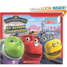 Chuggington: All Around Chuggington: Scholastic,Alana Cohen: 9780545274388: Amazon.com: Books