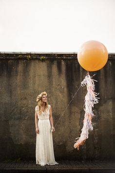 Katie and Mark's Giant Balloon Loving London Wedding, by Matt Parry Photography