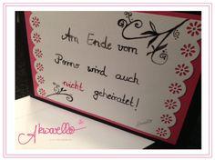 Witzige Glückwünsche zur Hochzeit by Akwarello #wedding #pink #love #greetingcards #congratulation #felicitation