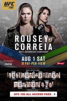 UFC 190: Rousey vs Correia