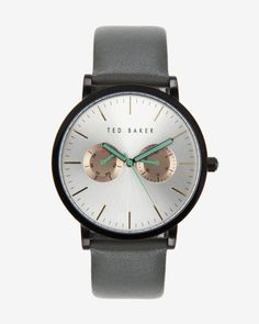 Sun dial watch - Black | New Arrivals | Ted Baker
